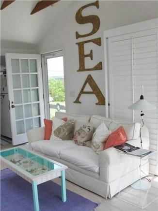 Wellfleet Cape Cod vacation rental - Living room welcomes you to a relaxing vacation