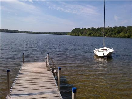 Brewster Cape Cod vacation rental - Sandy beach, private dock with 15' sailboat, 3 kayaks and 1 canoe