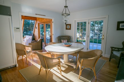 Brewster Cape Cod vacation rental - Large kitchen comfortably accommodates large families
