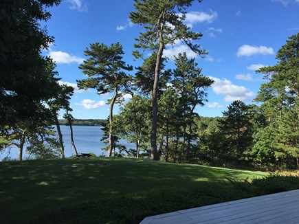 Brewster Cape Cod vacation rental - Picturesque 3 acre setting on 2 ponds. Water views surround.