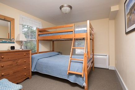 South Wellfleet Cape Cod vacation rental - Bedroom with twin over double bunk bed