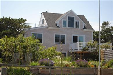 South Wellfleet Cape Cod vacation rental - Cottage east view