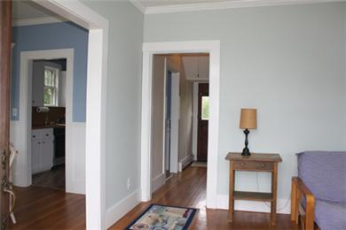 Falmouth Cape Cod vacation rental - From the living room toward the hallway and dining room
