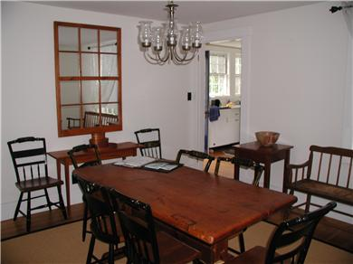 West Harwich Cape Cod vacation rental - Invite friends for a feast...or leave a jigsaw puzzle out.