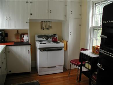 West Harwich Cape Cod vacation rental - Our favorite retro kitchen. Just like the old days. It works too.