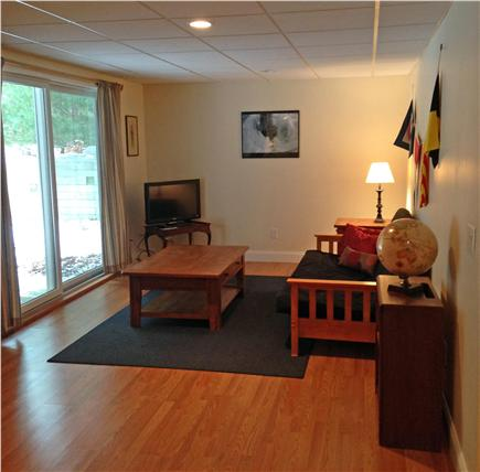West Brewster / East Dennis  Cape Cod vacation rental - As # 11 above. Spacious walkout w/ Queen futon and TV .