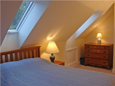 West Brewster / East Dennis  Cape Cod vacation rental - Second Queen bedroom upstairs with 2 skylights