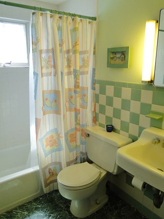 South Dennis Cape Cod vacation rental - Full bath with tub