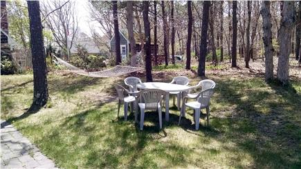 South Dennis Cape Cod vacation rental - Backyard for relaxing