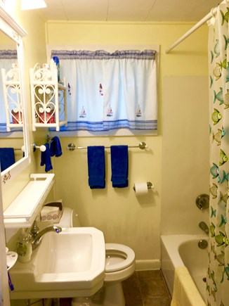 Orleans Cape Cod vacation rental - Sunny bathroom