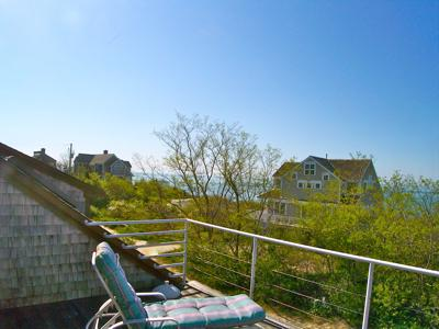 Brewster Cape Cod vacation rental - Limited views of Cape Cod Bay with sunsets over the sea
