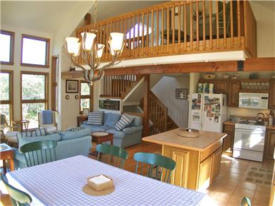 Brewster Cape Cod vacation rental - Contemporary living space with bright, airy feel