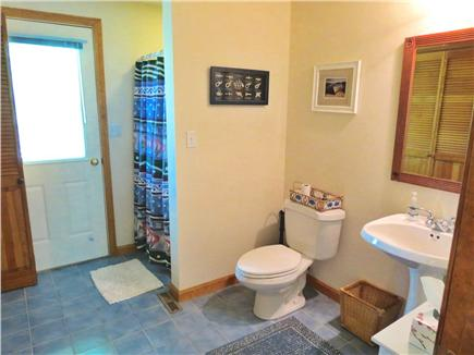 Brewster Cape Cod vacation rental - One of three full baths, this one also houses the laundry.