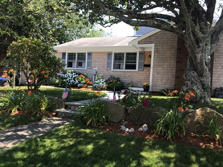 Falmouth Cape Cod vacation rental - Front of house at end of quiet dead end street