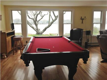 Falmouth Cape Cod vacation rental - Pool table with water views