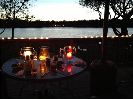 Falmouth Cape Cod vacation rental - Candlelight dinners
