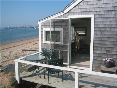 Provincetown Cape Cod vacation rental - Porch entrance