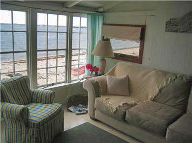 Provincetown Cape Cod vacation rental - Cottage livingroom