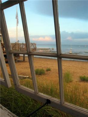 Provincetown Cape Cod vacation rental - Great windows on the bay