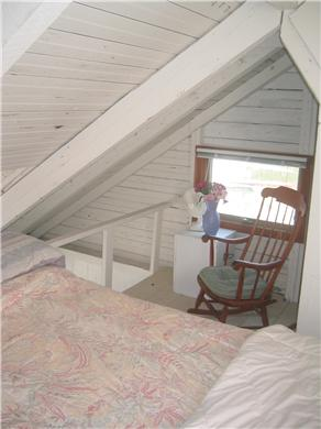 Provincetown Cape Cod vacation rental - Loft bedroom -Queen sized pillow top