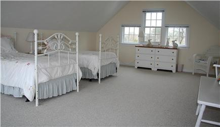 Chatham, short walk to Hardings Beach Cape Cod vacation rental - Bedroom #5 large bedroom w/waterview