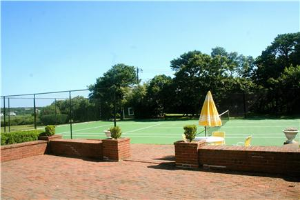 Chatham, short walk to Hardings Beach Cape Cod vacation rental - The tennis court