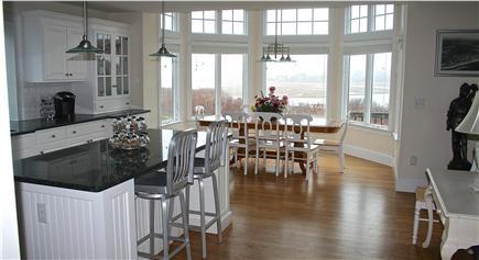 Chatham, short walk to Hardings Beach Cape Cod vacation rental - Kitchen/Dining seats 10 + 2 at counter