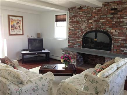 barnstable Cape Cod vacation rental - Downstairs  Living Room - great for TV, games and mini-pool
