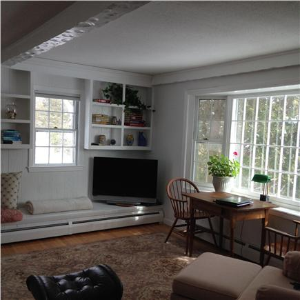 barnstable Cape Cod vacation rental - Large, comfortable Upstairs living room TV area