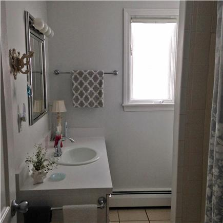 barnstable Cape Cod vacation rental - Upstairs, Clean, Crisp Bathroom, Full Tub with Shower