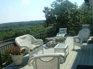 Chatham Cape Cod vacation rental - Spacious deck with fabulous views, great for dining