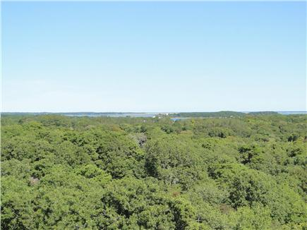 Chatham Cape Cod vacation rental - Glorious view from living room of Pleasant Bay and Atlantic Ocean