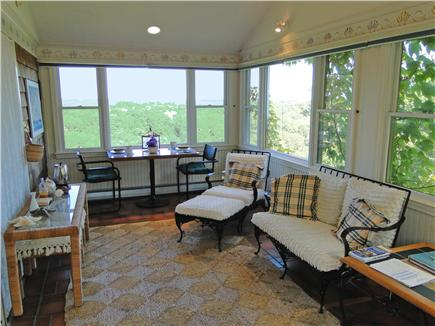 Chatham Cape Cod vacation rental - Spacious sunroom with two couches and window dining