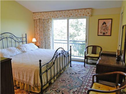 Chatham Cape Cod vacation rental - Master Bedroom with Cathedral Ceiling