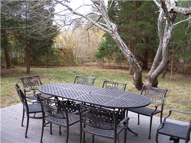 Eastham Cape Cod vacation rental - Deck and Outdoor Dining