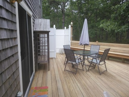Dennis Cape Cod vacation rental - Spacious Deck