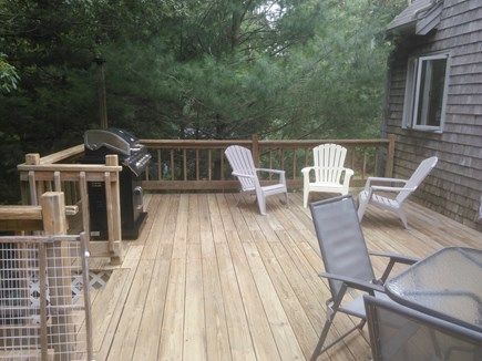 Dennis Cape Cod vacation rental - Deck