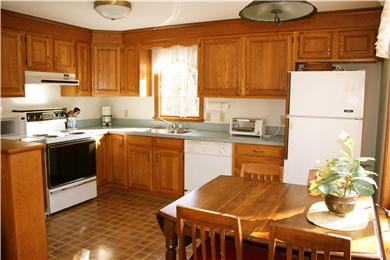 South Orleans Cape Cod vacation rental - Kitchen