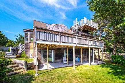 Wellfleet Cape Cod vacation rental - Back of house