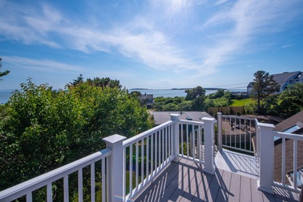 Wellfleet Cape Cod vacation rental - View from roof deck