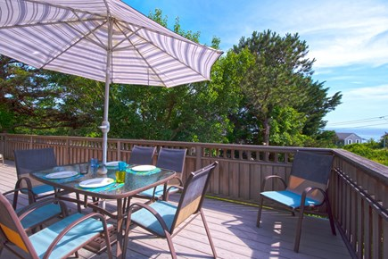 Wellfleet Cape Cod vacation rental - Main deck