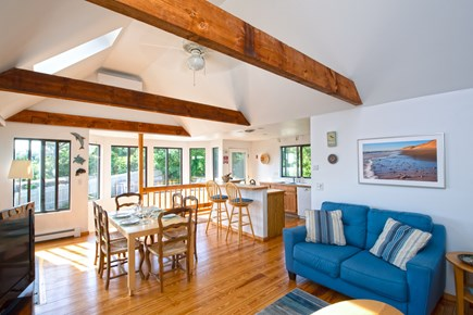 Wellfleet Cape Cod vacation rental - Main living area