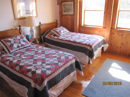 South Truro Cape Cod vacation rental - Twin bedroom