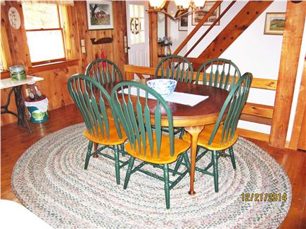 South Truro Cape Cod vacation rental - Dining area