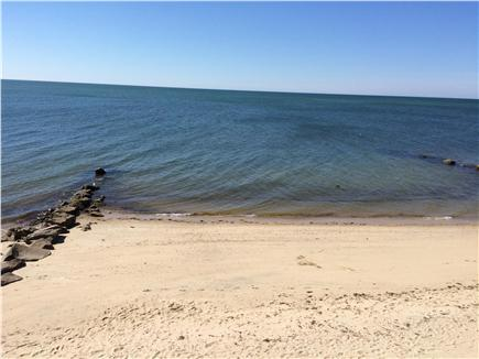 Dennis Port Cape Cod vacation rental - Beautiful residents' beach.