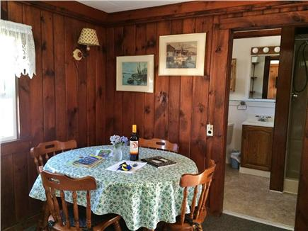 Dennis Port Cape Cod vacation rental - Dining area