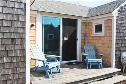 Dennis Port Cape Cod vacation rental - Relaxing  front deck