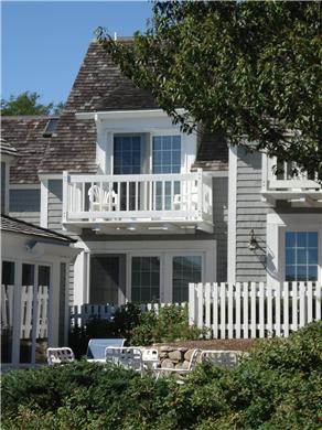 Mashpee, New Seabury, Mashpee New Seabury vacation rental - View of the patio and deck