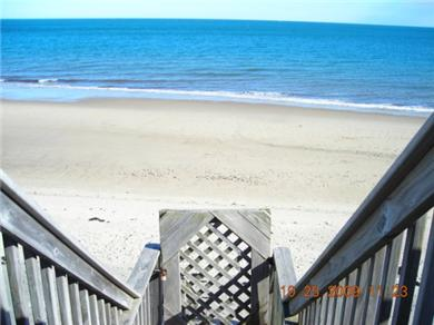 Plymouth MA vacation rental - Private stairs to beach