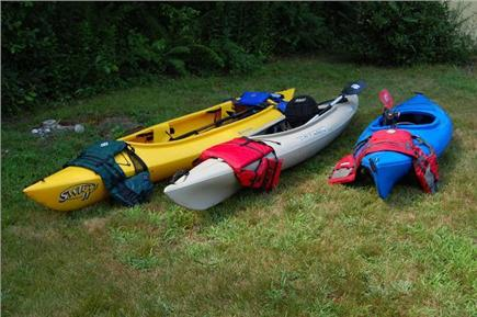 East Sandwich Cape Cod vacation rental - Kayaks for use by our guests